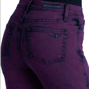12 m Rock & Republic Berlin Hi-Rise Slim Jeans